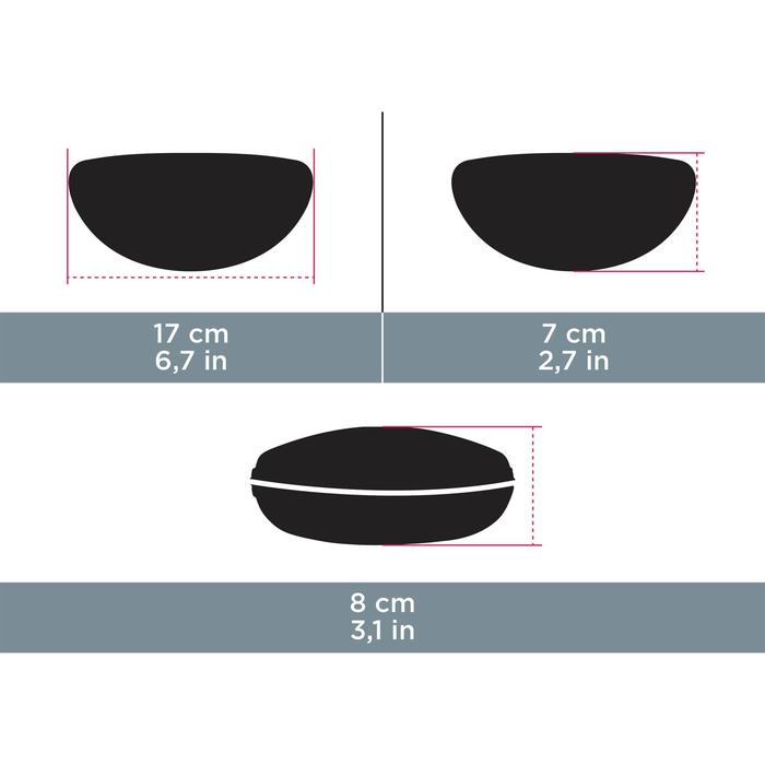 Brillendoos Case 560 zwart/rood