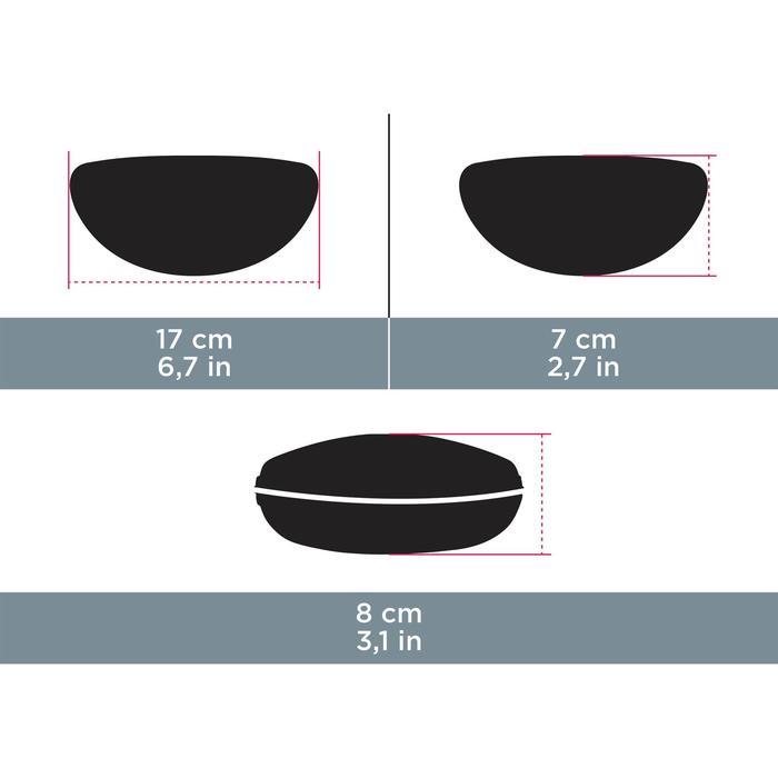 Etui rigide lunettes CASE 560 noir & rouge