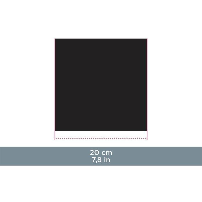 Lingette de nettoyage microfibre CLEAN 100 bleue, noire et blanche