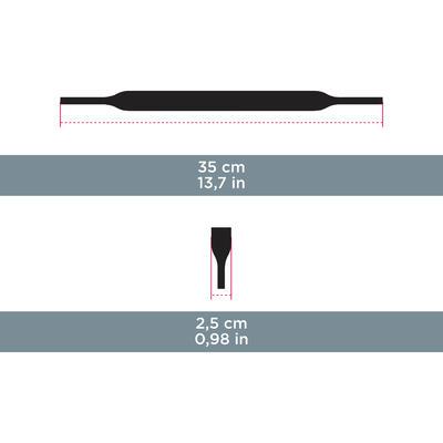 Bandeau de maintien néoprène - MH ACC 160 - noir