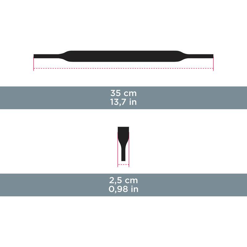Cordón de sujeción de neoprén STRAP UNI 160 negro