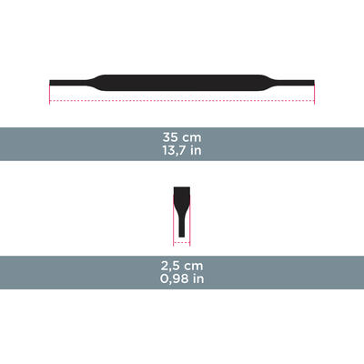 Неопреновий утримувальний ремінець ACC 160 – чорний