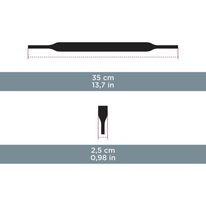 Bandeau de maintien néoprene STRAP UNI 160 noir