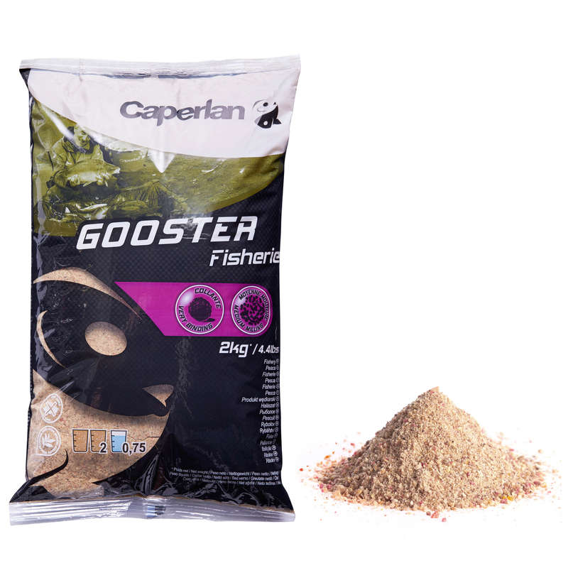 FISHING BAIT, ADDITIVES - GOOSTER FISHERY 2 KG CAPERLAN