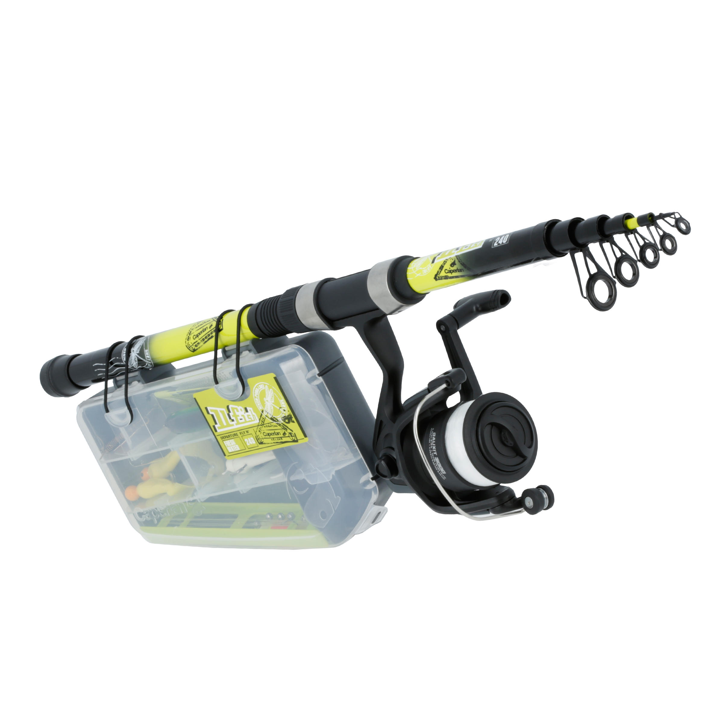 Kit descubrimiento de pesca UFISH FRESHWATER 240 New