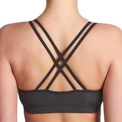 Fitnessbeha Confort+ voor dames gemêleerd - 931526