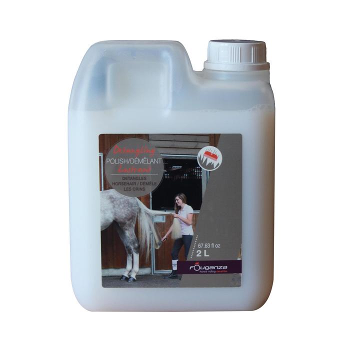 Ontwarrend glansmiddel ruitersport paard en pony 2 l