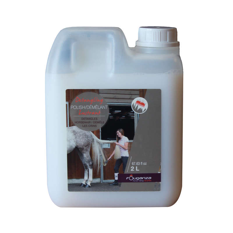 Opieka nad koniem Jeździectwo - Lustrant 2 l FOUGANZA - Dla konia