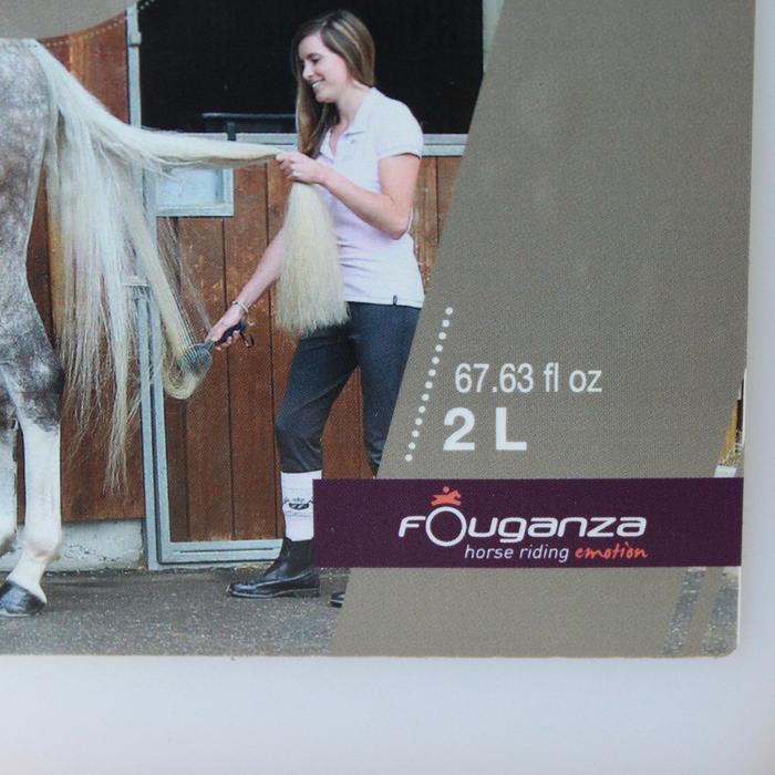 Démêlant lustrant équitation cheval et poney 2 L