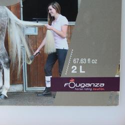 Desenredante lustrante equitación caballo y poni 2 L