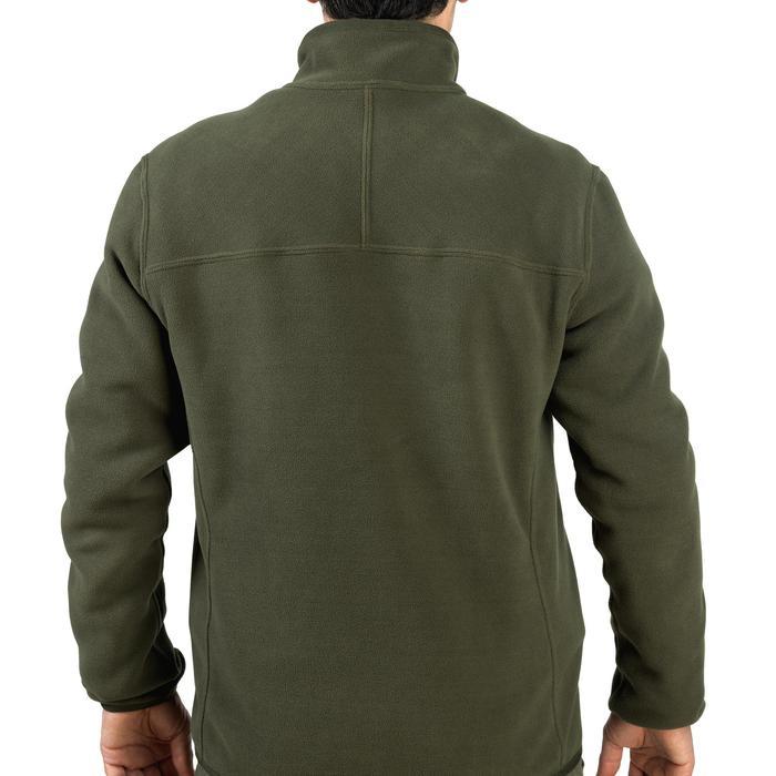 Polaire chasse réversible 500 fluo vert - 931719