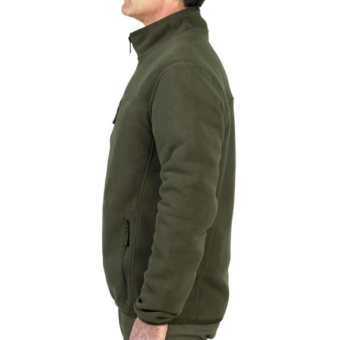 Polaire chasse réversible 500 fluo vert - 931722