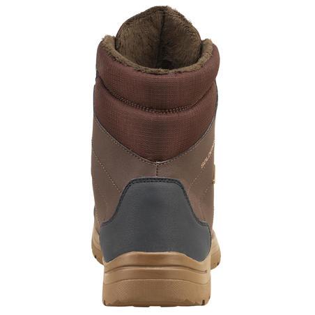 Chaussure chasse chaude imperméable land 100 marron