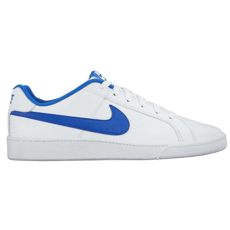 pasar por alto guardarropa Enlace  Court Royale férfi teniszcipő, fehér/kék NIKE - | Decathlon