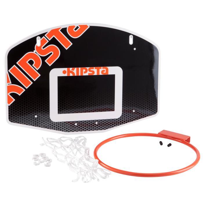 Panneau de basketball enfant B100 noir à fixer au mur. Jusqu'à 8 ans. - 932933