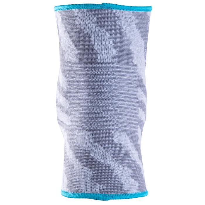 Rodilleras de voleibol V500 gris y azul