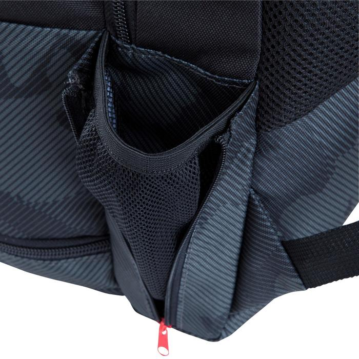 Sac à dos de sports collectifs Intensif 35 litres noir rouge