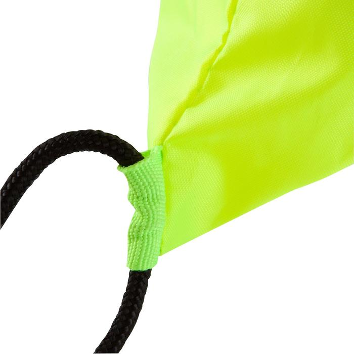 Mochila Cuerdas Kipsta 15 Litros Amarillo Negro