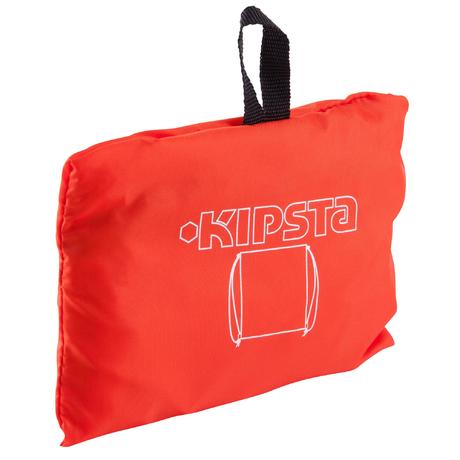 sac dos de sports collectifs light 15 litres orange blanc kipsta by decathlon. Black Bedroom Furniture Sets. Home Design Ideas