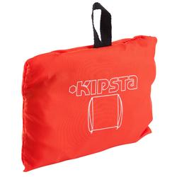 Sportrucksack Turnbeutel Light 15 Liter orange/weiß