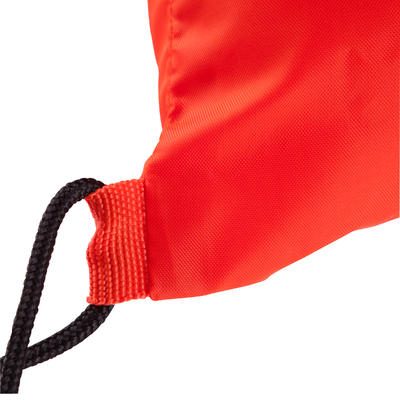 Sac à dos de sports collectifs Light 15 litres orange blanc