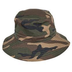 狩獵帽Steppe 100-森林迷彩