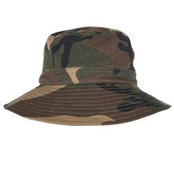 狩獵遮陽帽STEPPE 100-森林迷彩