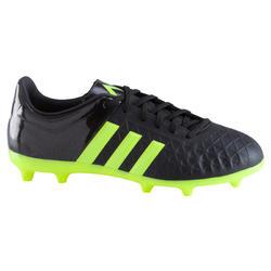Voetbalschoenen Ace 15.4 FG voor kinderen zwart/geel