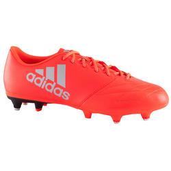 Voetbalschoenen X 16.3 SG voor kinderen rood
