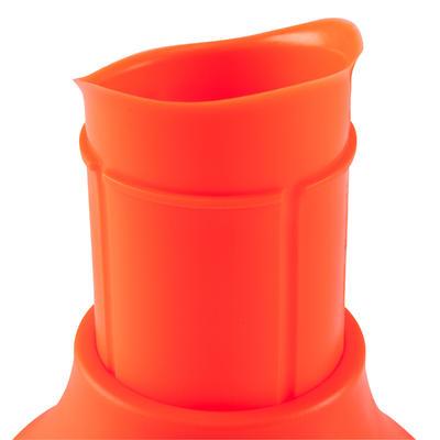 Tee rugby 500 ajustable orange