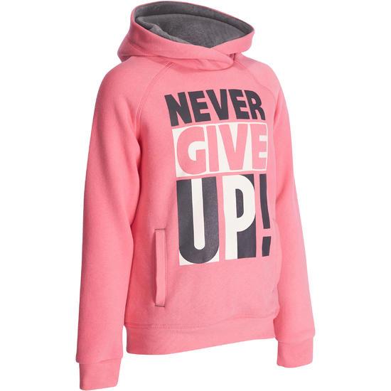 Warme gym hoodie voor meisjes - 935421