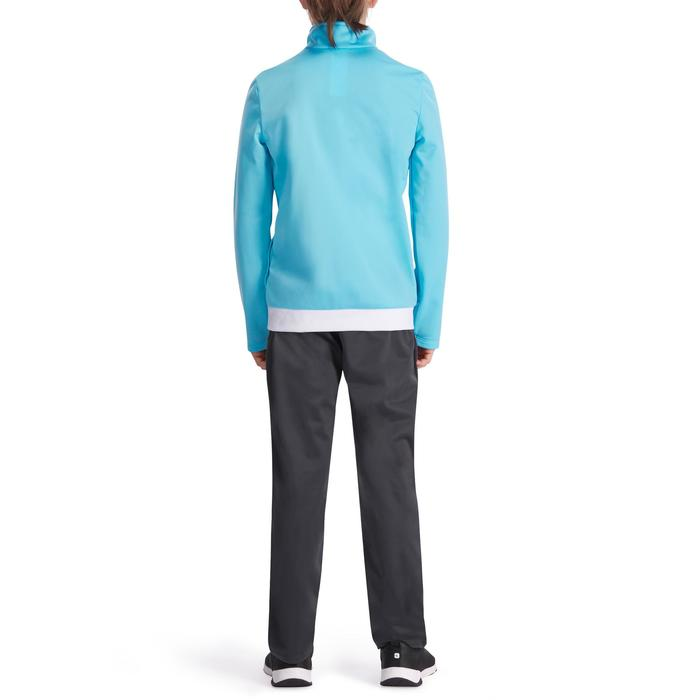 Warm gym trainingspak met rits Energy Gym'y voor meisjes blauw