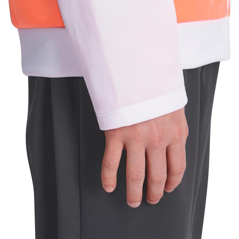 Gym'y Girls' Fitness Zip Tracksuit - Orange