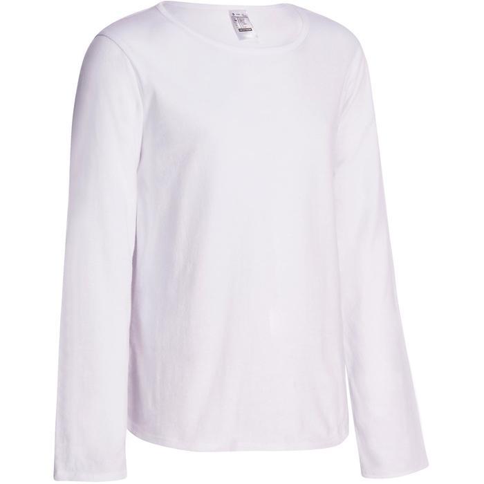 Meisjesshirt met lange mouwen voor gym - 935520