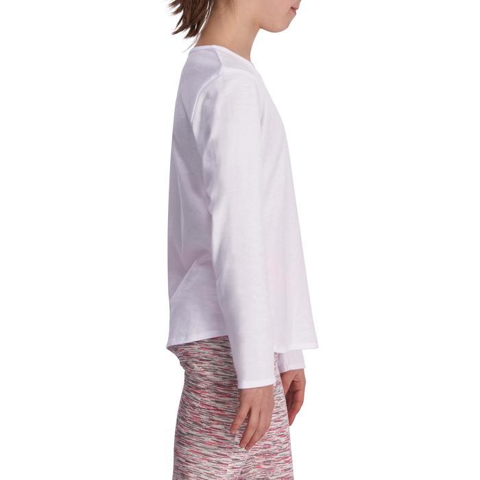 Meisjesshirt met lange mouwen voor gym - 935521