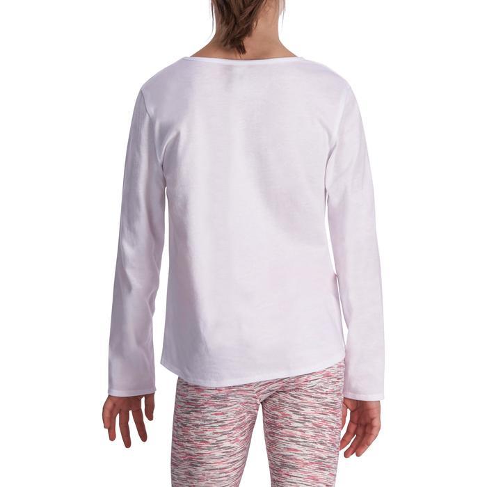 Meisjesshirt met lange mouwen voor gym - 935525