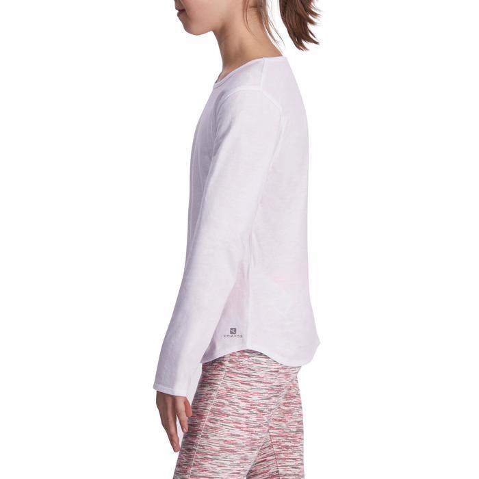 Meisjesshirt met lange mouwen voor gym - 935526