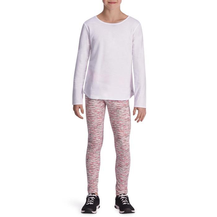 Meisjesshirt met lange mouwen voor gym - 935530