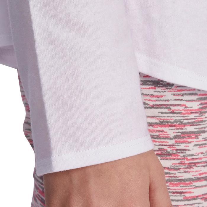 Meisjesshirt met lange mouwen voor gym - 935532