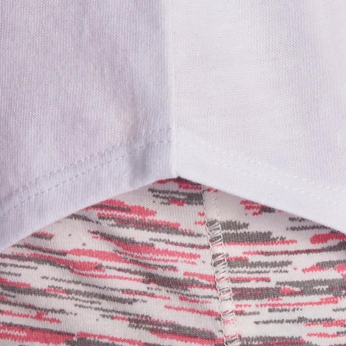 Meisjesshirt met lange mouwen voor gym - 935539