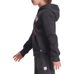 Warme gym hoodie met rits voor meisjes - 935563
