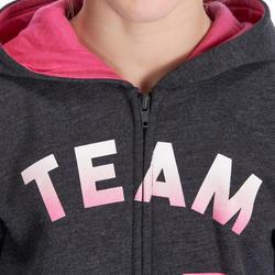 Warme gym hoodie met rits voor meisjes - 935565