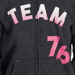 Warme gym hoodie met rits voor meisjes - 935566