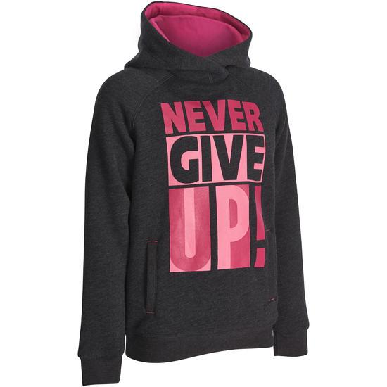Warme gym hoodie voor meisjes - 935571