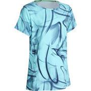 Modra majica s kratkimi rokavi ENERGY+ za deklice
