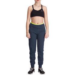 Warme gym broek Energy voor meisjes, slim fit - 935765