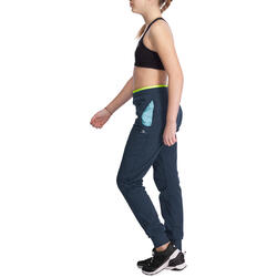 Warme gym broek Energy voor meisjes, slim fit - 935768