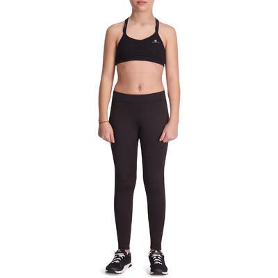 Legging chaud S500 Gym fille noir