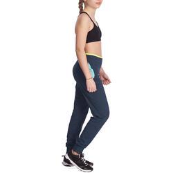 Warme gym broek Energy voor meisjes, slim fit - 935882