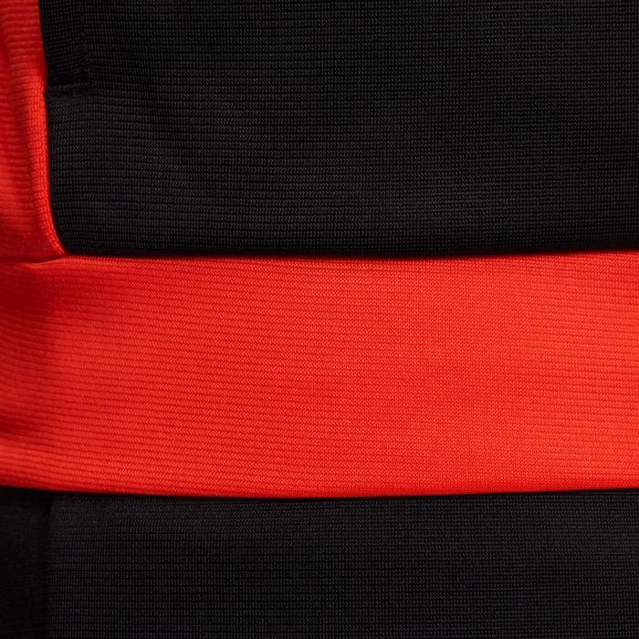 Gym trainingspak met rits Energy Gym'y voor jongens rood/zwart